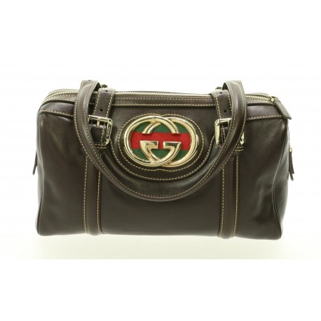 GUCCI GG CANVAS MINI BOWLING
